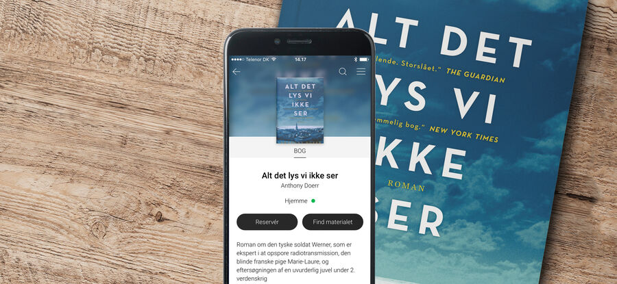 Bibliotekets app